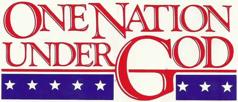 ONE NATION NOT UNDERGOD!