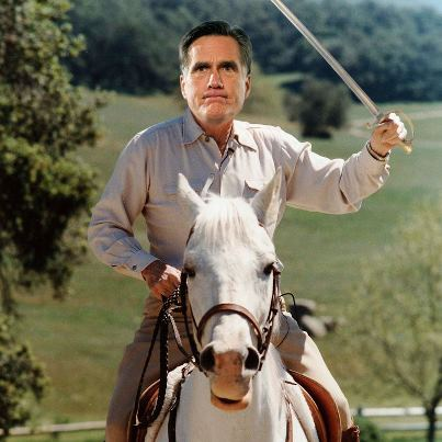 MITT ROMNEY, BROKERED SAVIOR