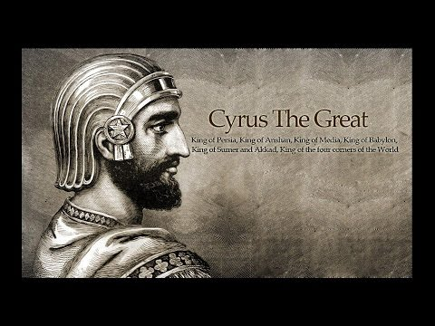 "IS TRUMP OUR ""CYRUS""?"