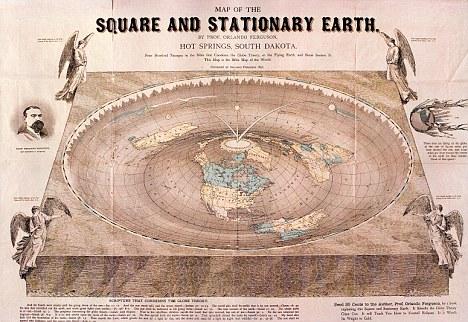 FLAT EARTH EISEGESIS