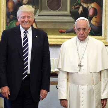 TRUMP AS ANTICHRIST AND POPE FRANCIS AS FALSE PROPHET