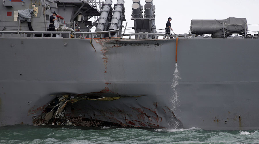 THINKING ABOUT THE USS JOHN S. McCAIN.
