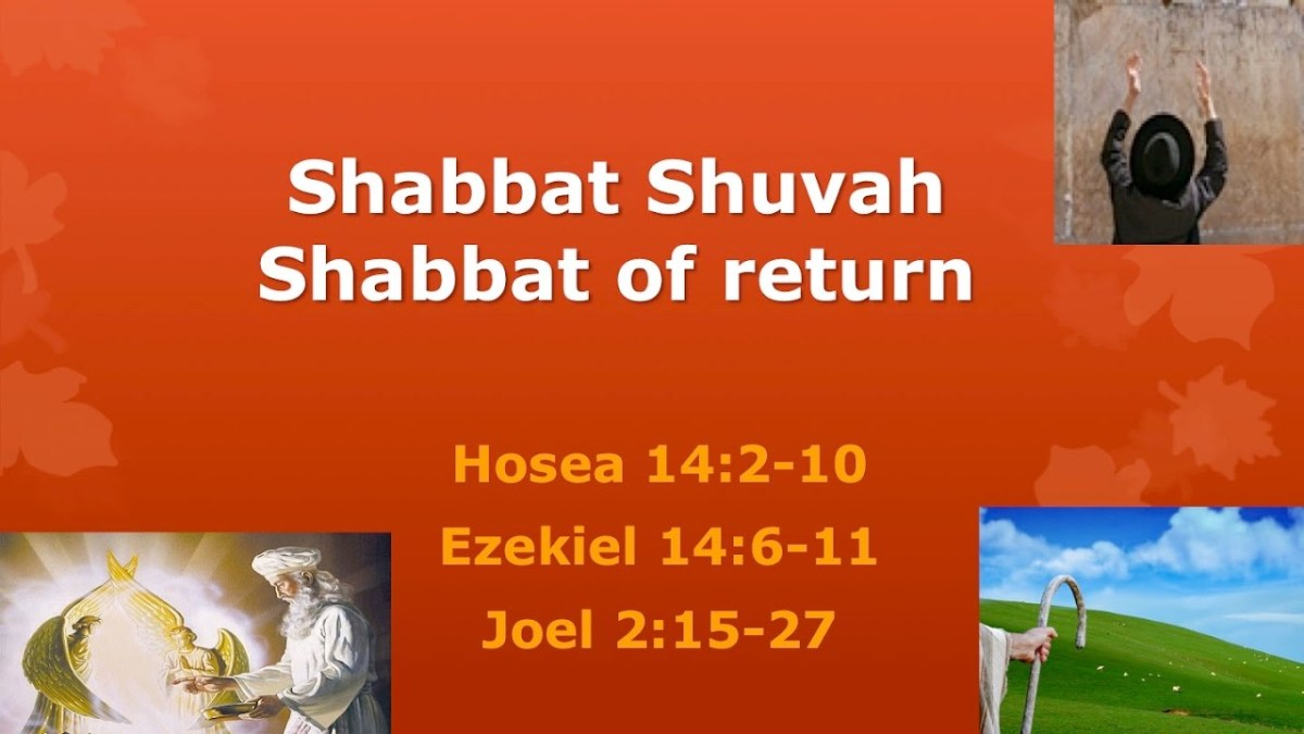 SABBATH OF RETURN