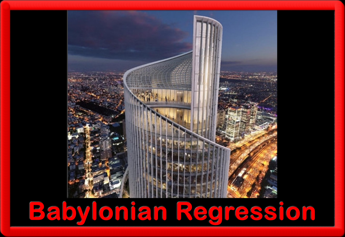 BABYLONIAN REGRESSION: