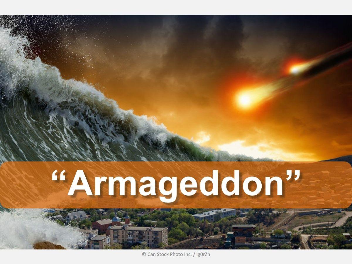 A Faked Armageddon?